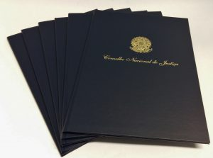 Pasta para diploma, porta diplomas