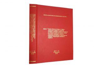 Encadernação cada pura para TCC, monografias, teses, doutorado em ate 24hs