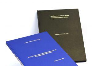 monografia, TCC, teses, mestrados,encadernação capa dura urgente